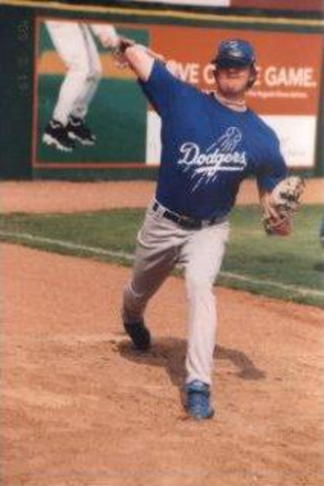 Brandon Weeden pitching. PHOTO PROVIDED