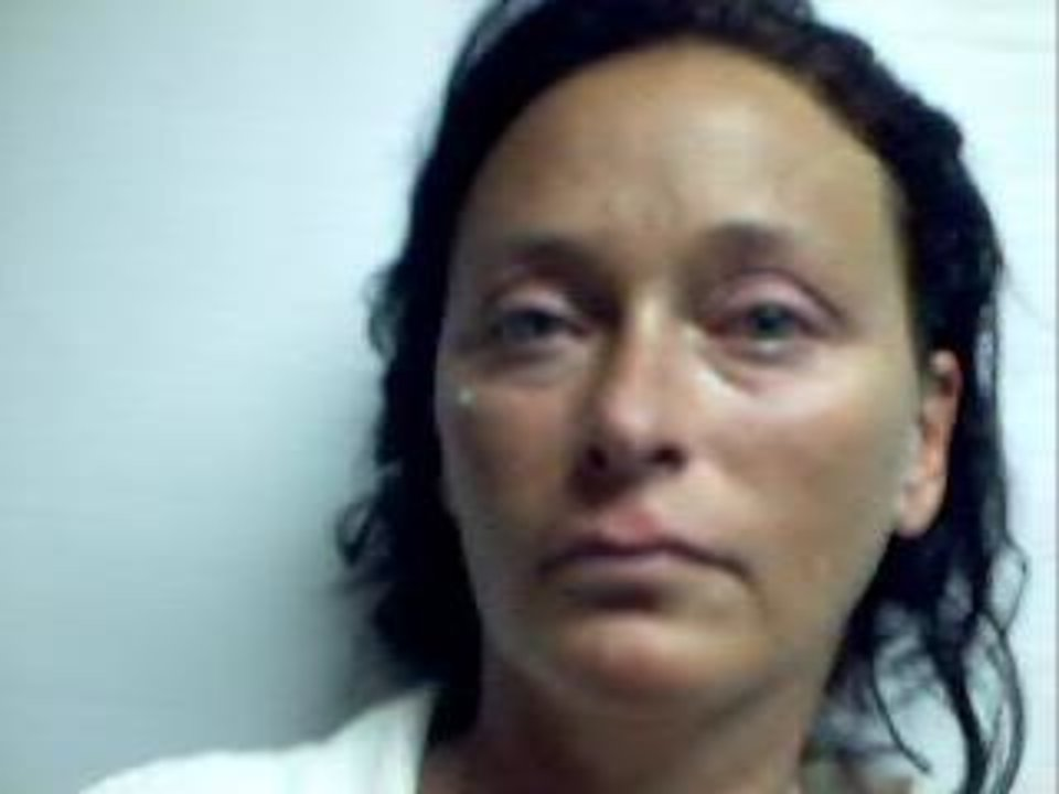 This image provided by the Accomack County Jail shows  Tonya S. Bundick, 40, of Parksley, Va., who has been charged with one felony count of arson and one felony count of conspiracy to commit arson in Accomack, Va., Tuesday April 2, 2013. State police spokeswoman Corinne Geller says 40-year-old Tonya S. Bundick was arrested shortly after midnight Tuesday near a vacant residence in Melfa that had been set on fire. (AP Photo/Accomack County Jail)