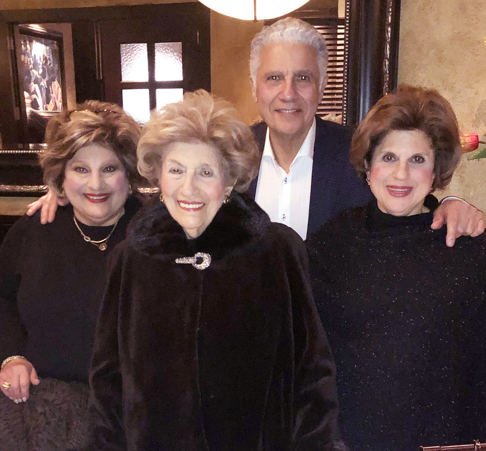 Photo - Cindy Homsey, Katherine Shadid, Frank Shadid and Stephanie Shanbour. PHOTO PROVIDED