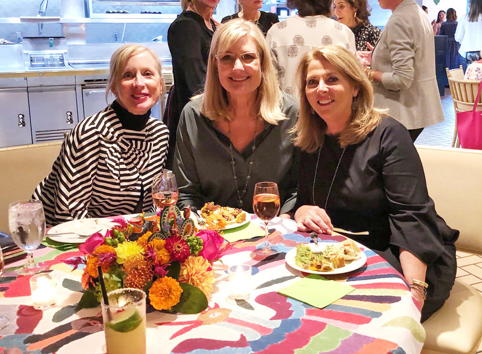 Photo - Barbara Miller, Mary Kay Samis, Patty Anthony. PHOTO BY SUSAN HOFFMAN