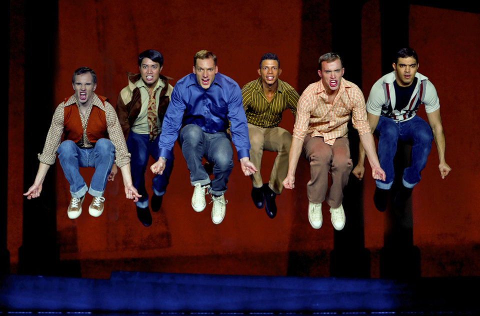 "A scene featuring the Jets in ""West Side Story.""   Photo provided <strong></strong>"
