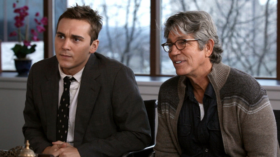 "Steve Talley, left, and Eric Roberts play investigative reporters probing a cold-case race murder in ""Deadline."" PHOTO PROVIDED <strong></strong>"