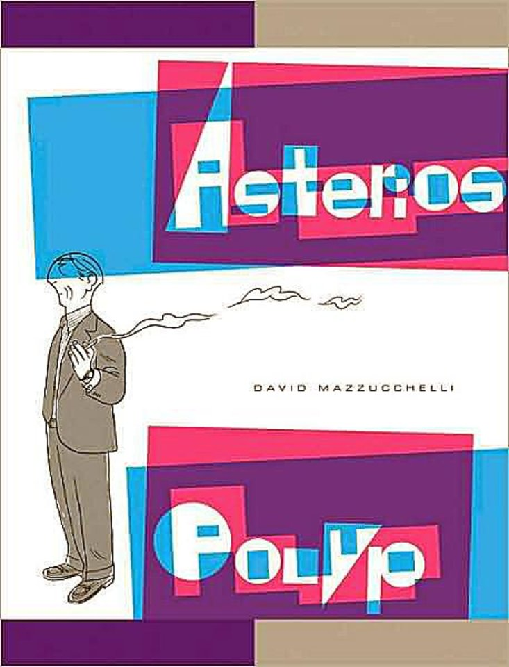 "David Mazzuchelli's ""Asterios Polyp."" Pantheon Photo"