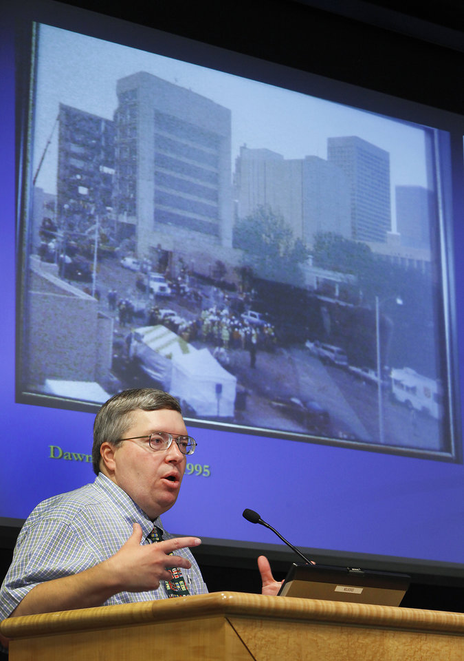 Former Salvation Army Disaster Social Services Director Jon Wallace in 2010.  The Oklahoman Archives