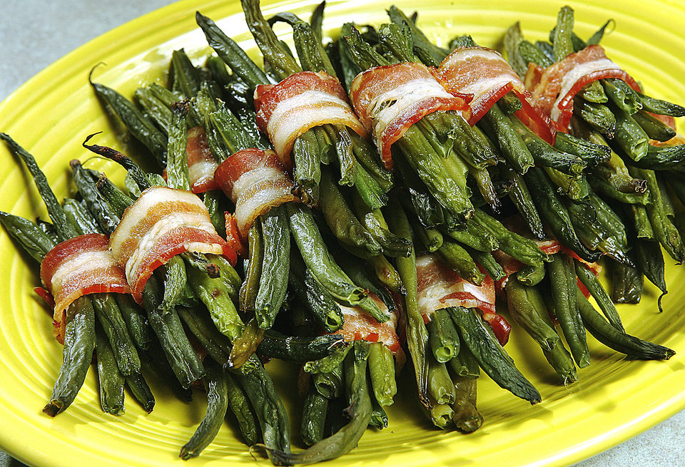 Green Bean and Bacon Bundles