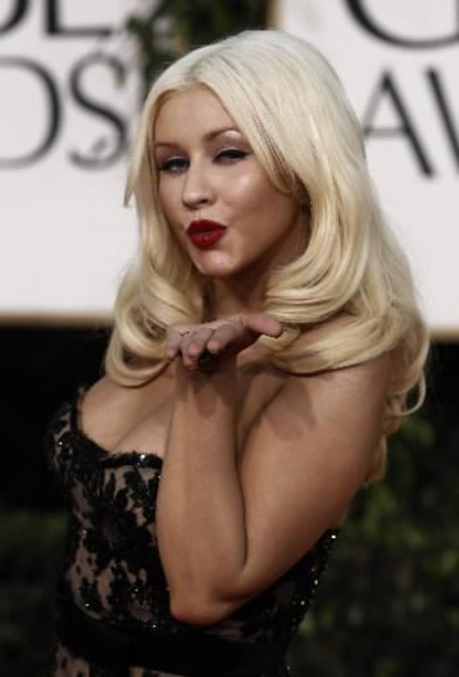 Photo -  Christina Aguilera (AP file)