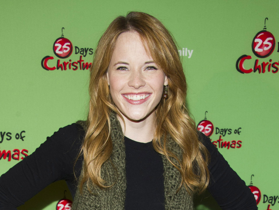FILE - This Dec. 4, 2011 file photo shows actress Katie Leclerc attends ABC Family\'s