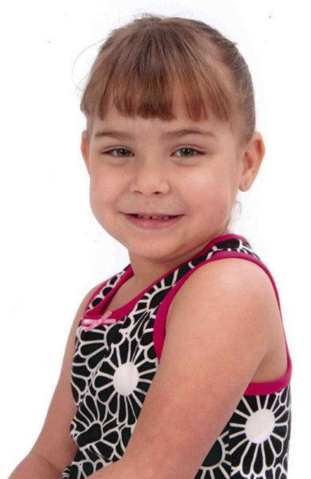 SERENITY DEAL / CHILD ABUSE DEATH: Serenity Anne Deal, 5. died of child abuse. Her father, Sean Devon Brooks, 31, was charged in Oklahoma County District Court with first-degree murder and felony child abuse. PROVIDED ORG XMIT: KOD