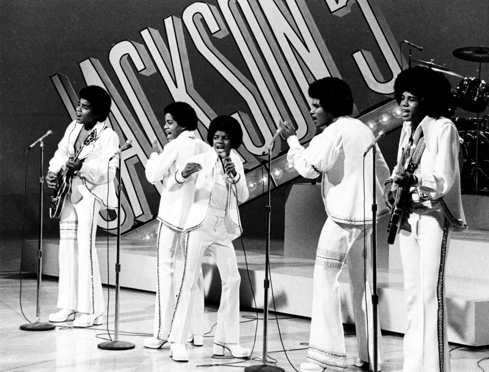 Photo - FILE - In this Sept. 15, 1972 file photo, The Jackson 5, from left, Tito,  Marlon,  Michael, Jackie and Jermaine perform during the