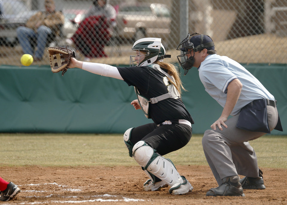 Photo -  Catcher Chloe Clifton and USAO will be competing in the NAIA World Series. [PHOTO PROVIDED BY USAO]