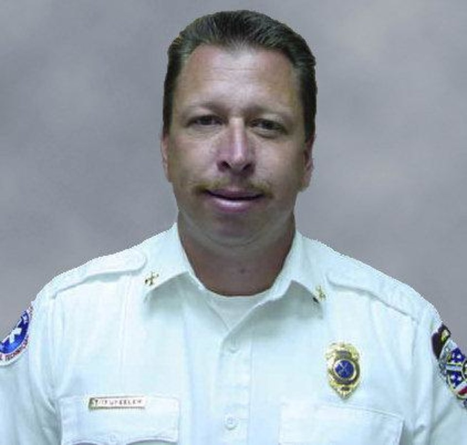 Tim Wheeler Former Edmond assistant fire chief