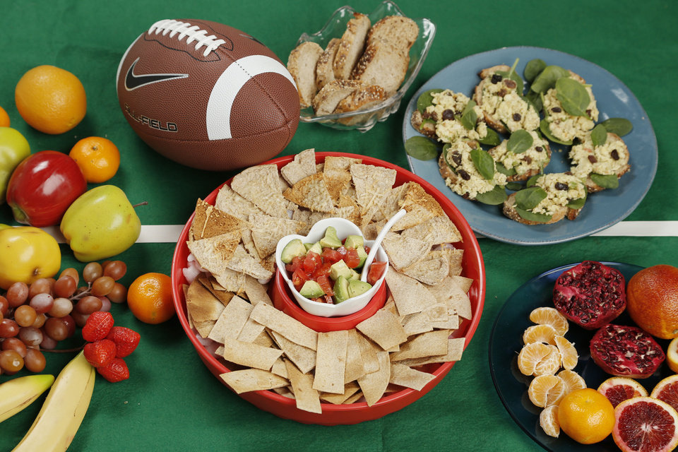 Photo - Your Super Bowl spread can be healthy as well as delicious.  DOUG HOKE - THE OKLAHOMAN
