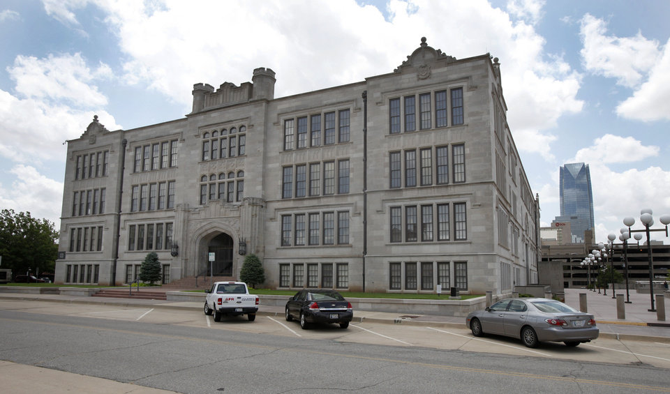 Central High School in Oklahoma City, Friday, July 2, 2012. Photo By Steve Gooch, The Oklahoman