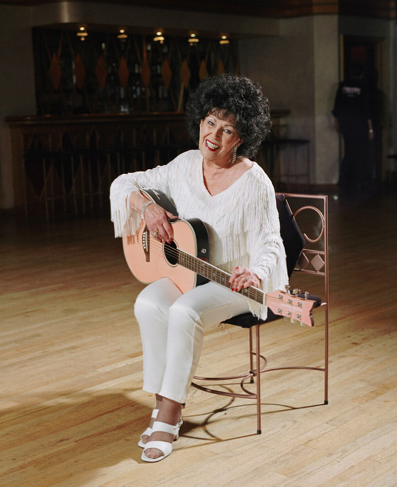 Photo - Wanda Jackson is being inducted into the Oklahoma City Public Schools Foundation Wall of Fame.  PROVIDED - PROVIDED