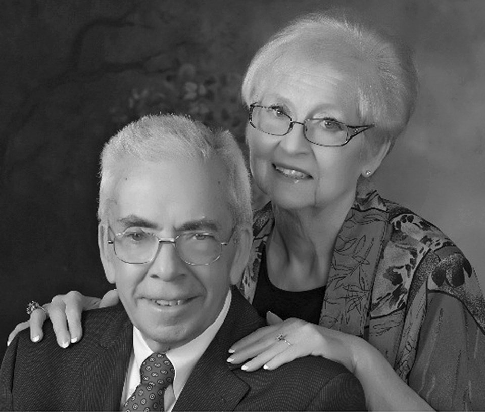 Kent and Evelyn Eschler, of Oklahoma City, were married Dec 24, 1961, in Oklahoma City.jpg