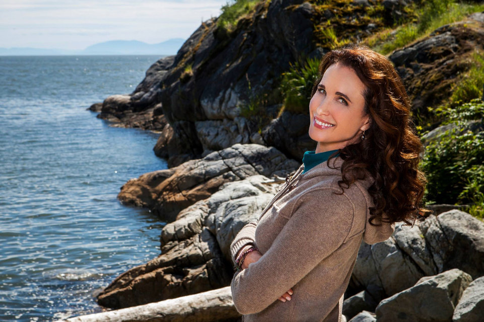 Photo - This publicity photo released by Hallmark Channel shows Andie MacDowell, as Olivia Lockhart, a municipal judge, in