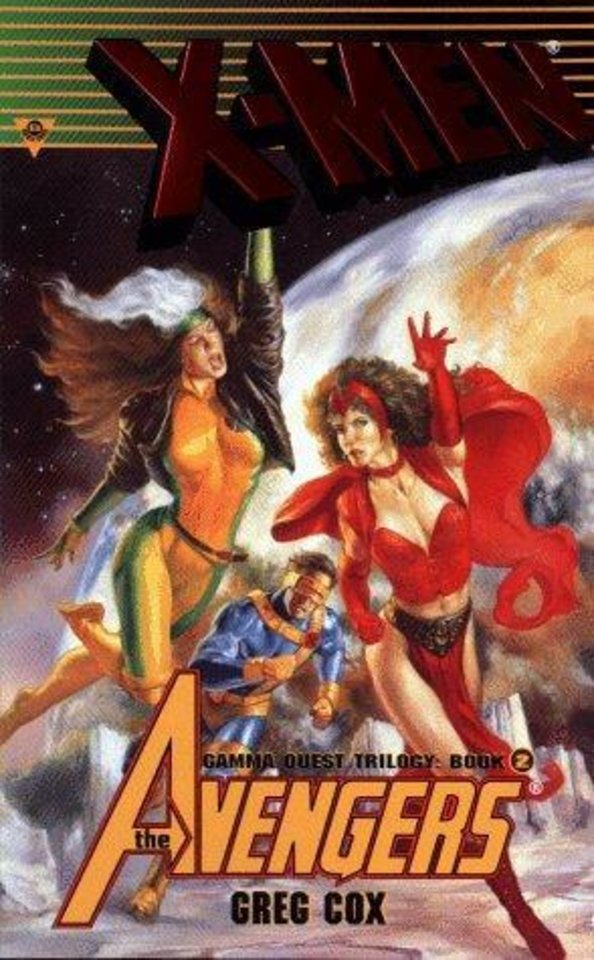 Photo -  X-Men/Avengers: Search and Rescue, book 2 of the Gamma Quest Trilogy
