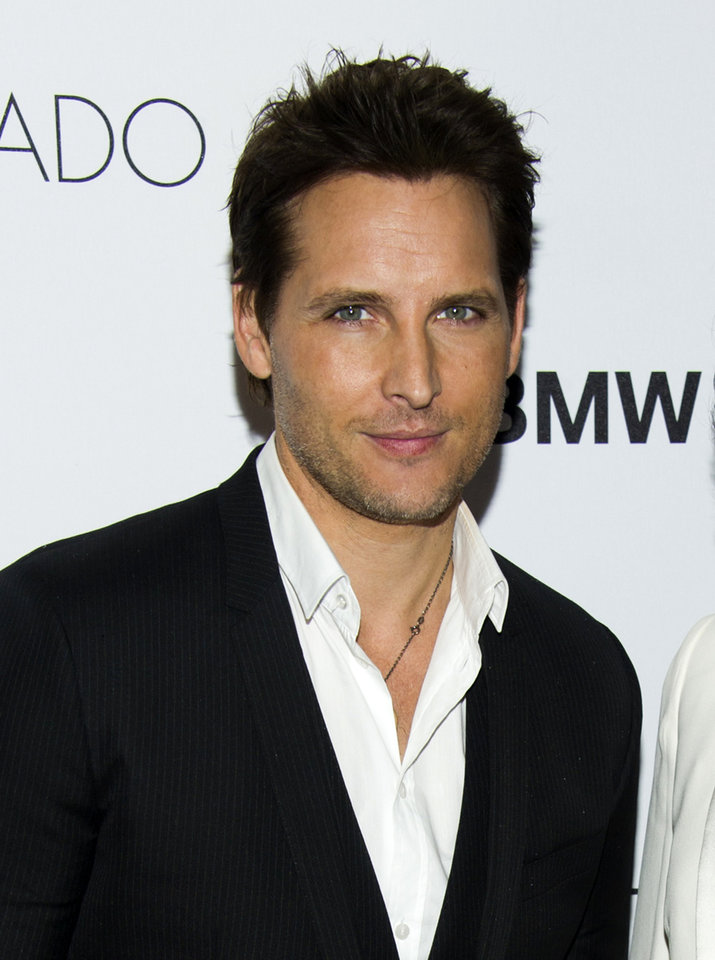 Photo - FILE - This Oct. 23, 2013 file photo shows actor Peter Facinelli at the sixth annual GQ Gentlemen's Ball in New York. Facinelli will star with Anna Friel in the NBC the drama