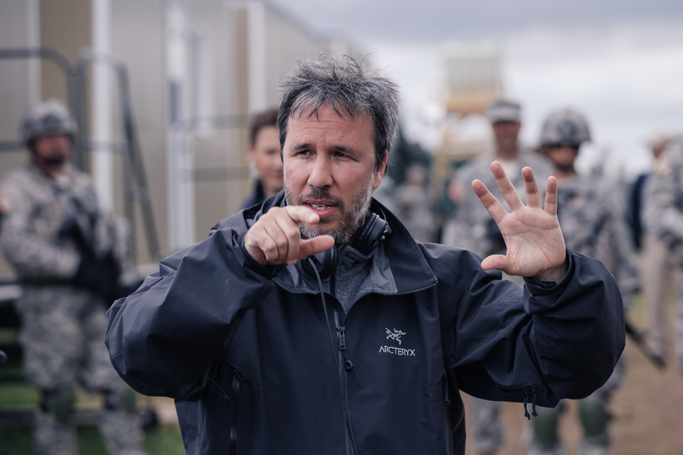 Photo -  Director Denis Villeneuve on the set of the film