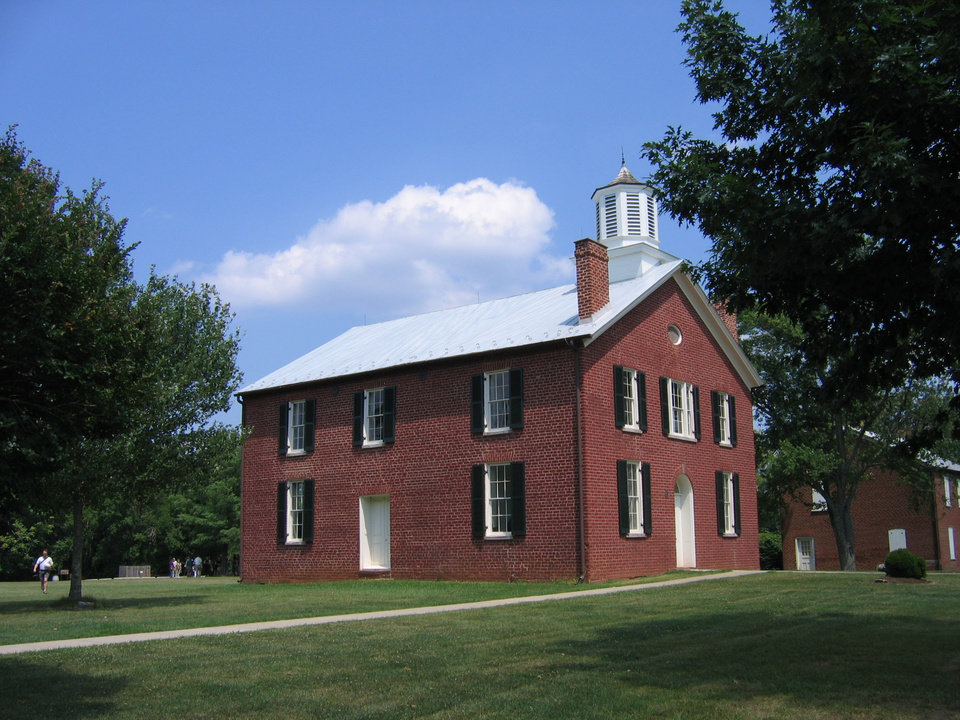 Photo - An 1822 courthouse in Brentsville, Va., was restored recently.  PHOTO BY RICK ROGERS, THE OKLAHOMAN   ORG XMIT: 1001081812520826