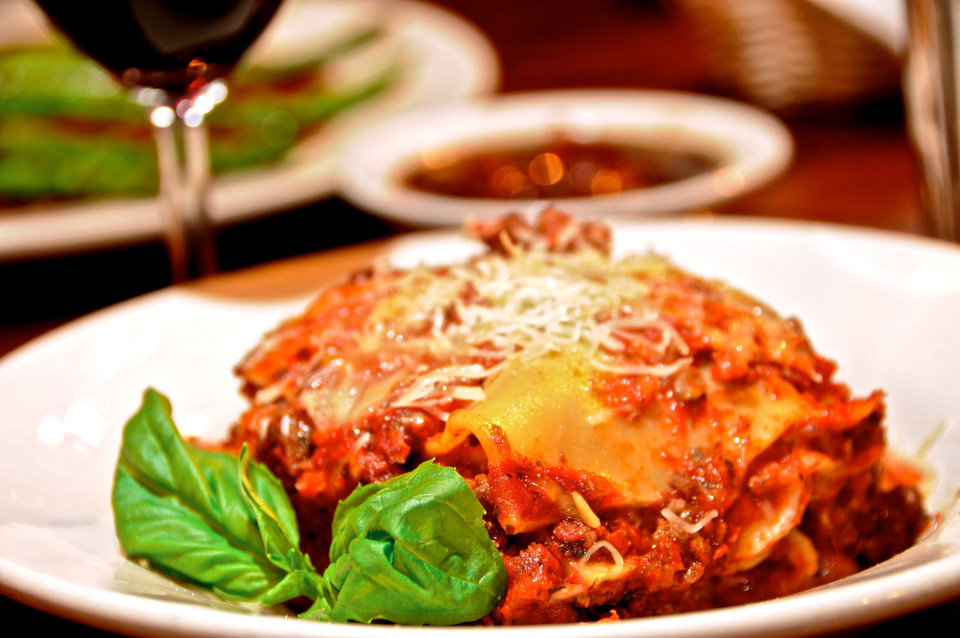Meat Lasagna, Photo by Ben Pendleton