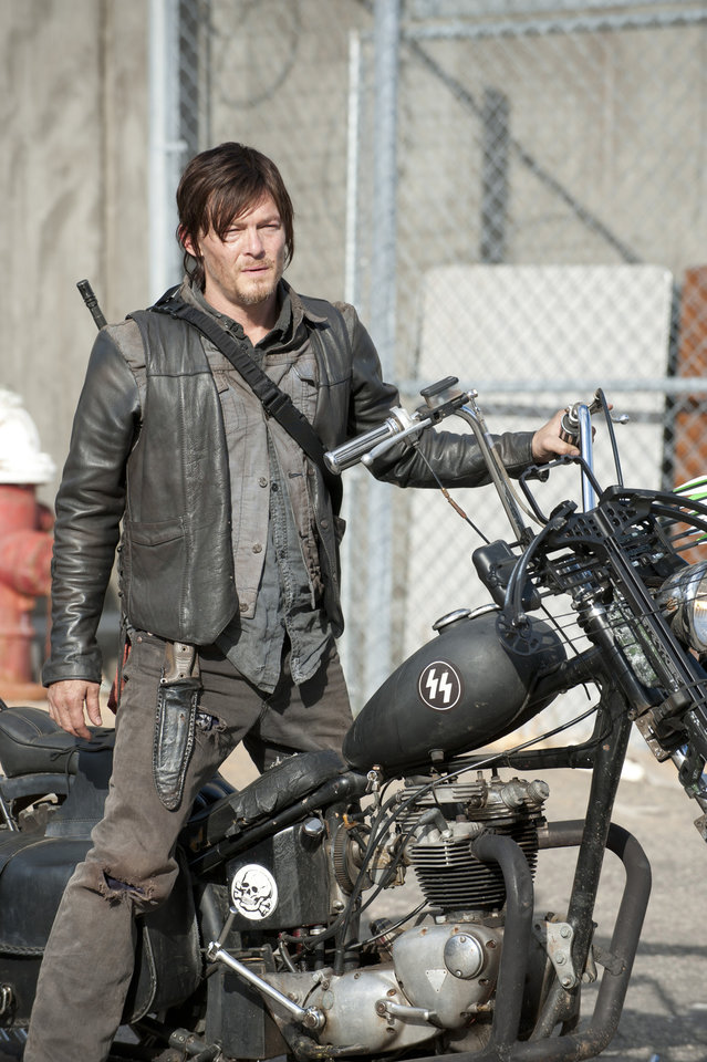 Daryl Dixon (Norman Reedus) - The Walking Dead - Season 3, Episode 16 - Photo Credit: Gene Page/AMC