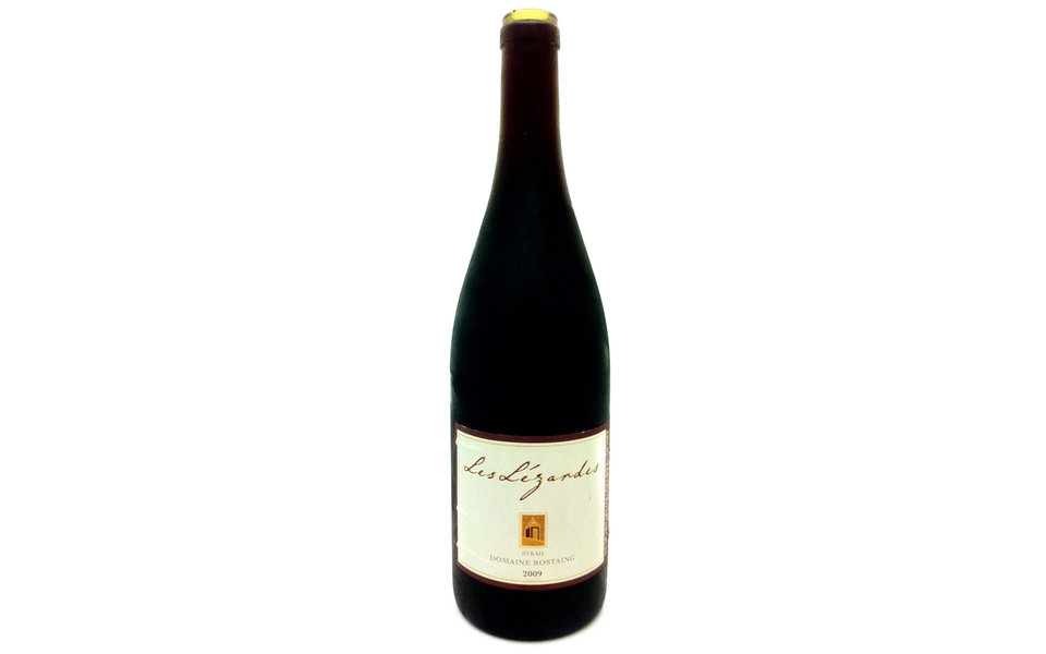 "The 2009 Domaine Rostaing Syrah ""Les Lezardes"" is rich and spicy, tasting of wild plums and carrying the scent of sun-baked herbs from the steep hillsides. On nights when you just feel like throwing some ribs or chops on the grill, this is the wine. (Los Angeles Times/MCT)"