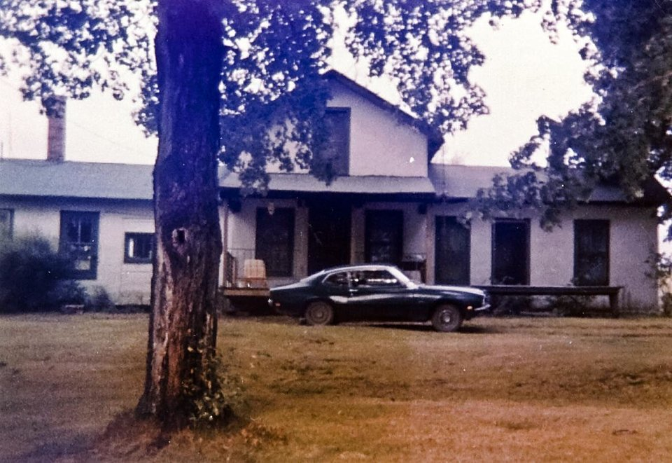 "Photo -  My siblings and I had similar first cars, but since this photo was taken in 1985, I'm all but certain that's my 1970 Ford Maverick parked in front of the house. I think it cost $800. Initially I disliked it; it was just a year younger than me. But if a car can have a personality, this one did. My friends called it ""The Mav,"" and somehow it was cooler than their newer vehicles. Photo provided by Ken Raymond"