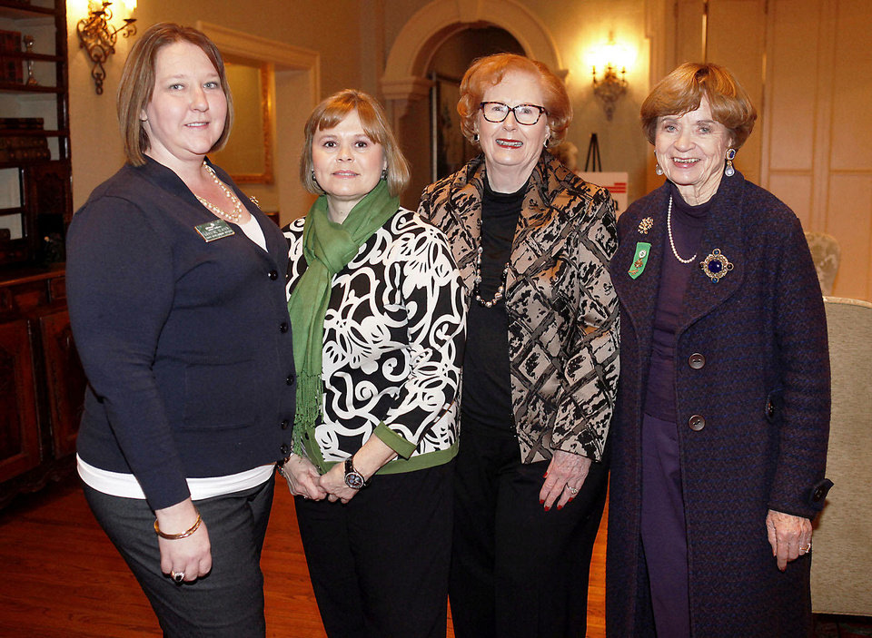 Photo - Crystal Slater, Cindy Creger, Lil Ross, Kay Goebel.