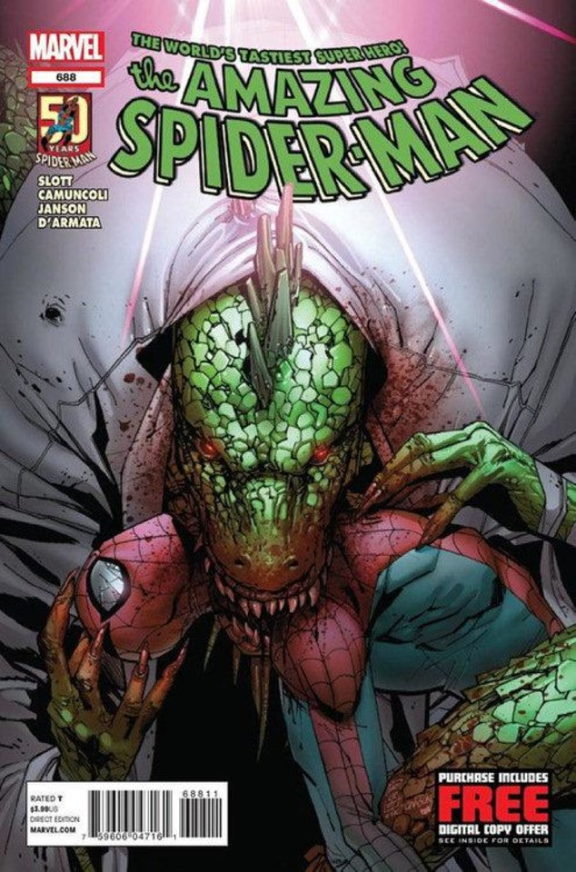 "Photo - The cover to ""The Amazing Spider-Man"" No. 688. Marvel Comics"