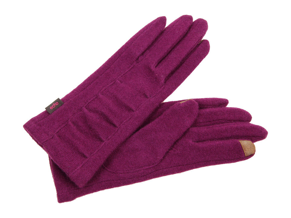 To get the first lady\'s elegant daytime look, try the Echo design echo touch center ruched glove from Zappos.com for $38. (Zappos.com via Los Angeles Times/MCT)