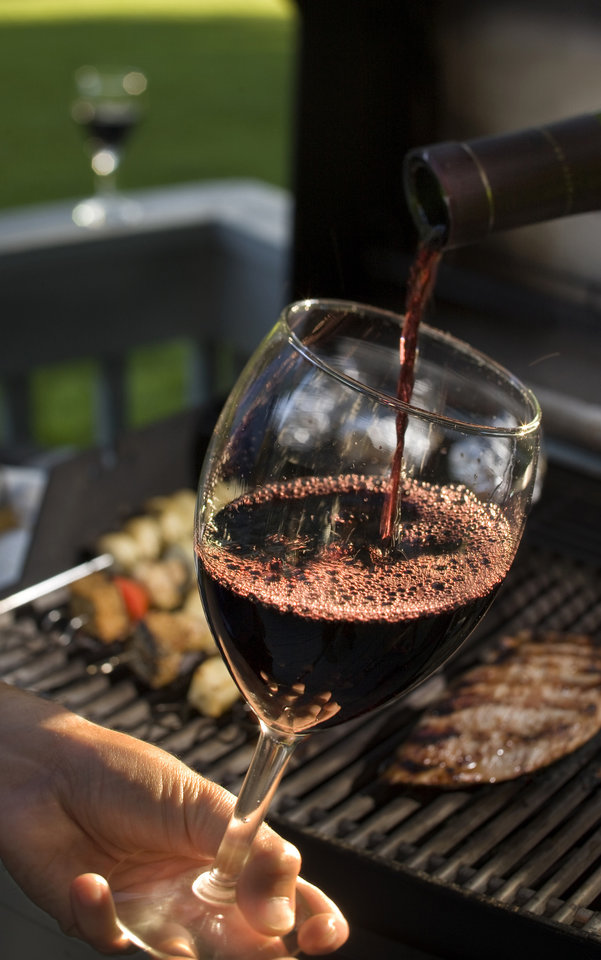 "Some red wine around the grill is never a bad way to go, but not so Bordeaux. ""I hate to say it, but Bordeaux is out right now. Pricing has gotten extremely high,"" says Evan Goldstein, a master sommelier, wine writer and president of Full Circle Wine Solutions in San Carlos, California. (Bill Hogan/Chicago Tribune/MCT)"