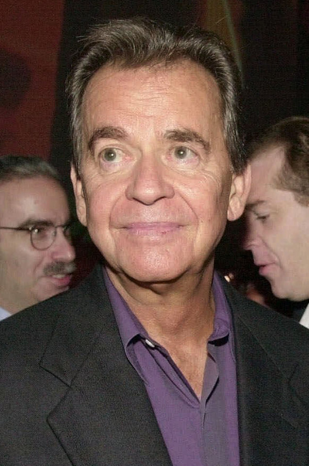 "FILE--Television host Dick Clark is shown in this Aug. 16, 2001, file photo in Beverly Hills, Calif. In the spring, ABC will mark the 50th anniversary of ""American Bandstand'' with a two-hour prime-time special. Clark, 71, will show classic moments from the shows as well as new performances by music superstars spanning five decades. Things have changed since the days when Elvis Presley, Chuck Berry and the Beach Boys influenced popular culture, he told The Associated Press on Thursday, Sept. 27, 2001.(AP Photo/Kim D. Johnson, File)"