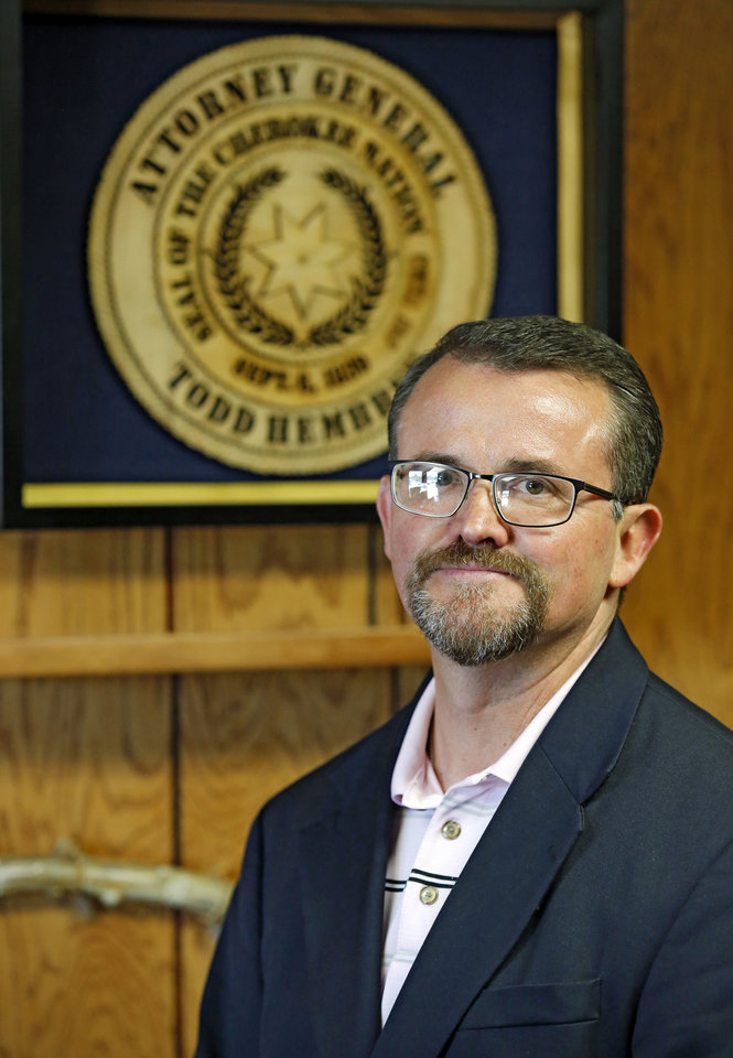 Photo -    Todd Hembree     Cherokee Nation attorney general