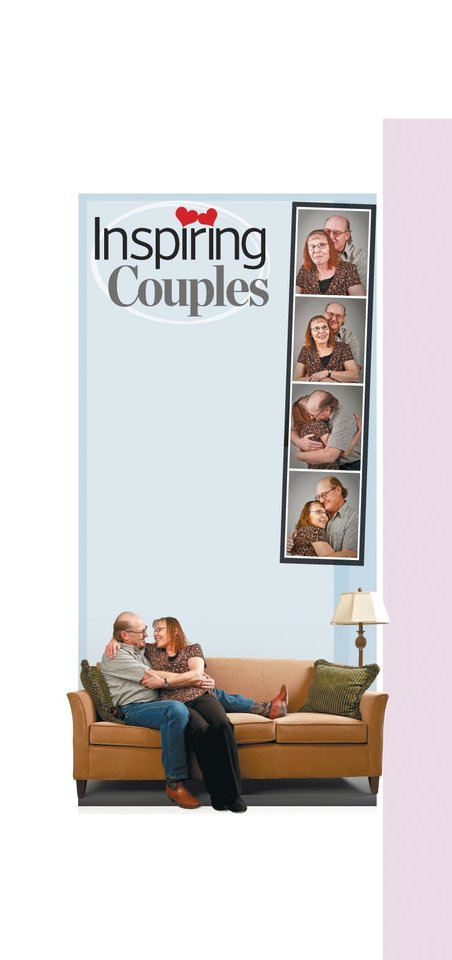 Photo - MERLE BEAN:       Inspiring Couples GRAPHIC with five photos: In addition to their own three children and an adopted child, Merle and Ernest Bean have shared their home and their lives with more than 80 foster children. - PHOTO BY CHRIS LANDSBERGER