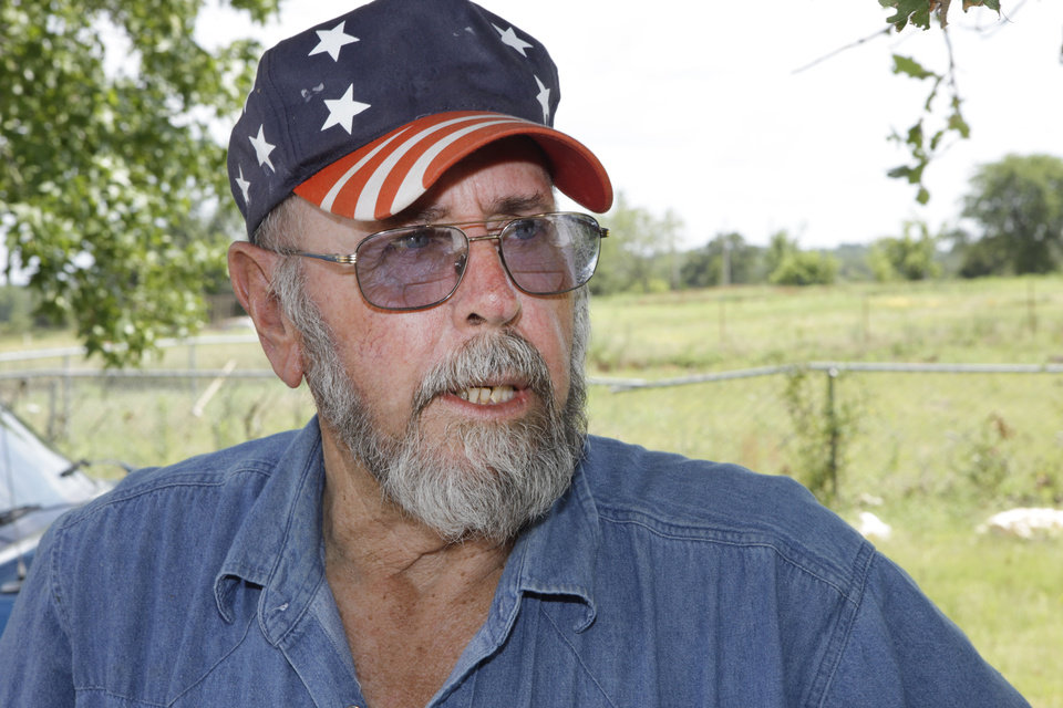 Photo - Bethel Acres tornado victim Jerry Breedlove says he and his wife were ineligible for FEMA grant assistance because they had insurance, but the Red Cross helped them financially get into a furnished rental home.  Photo by David McDaniel, The Oklahoman  David McDaniel - The Oklahoman
