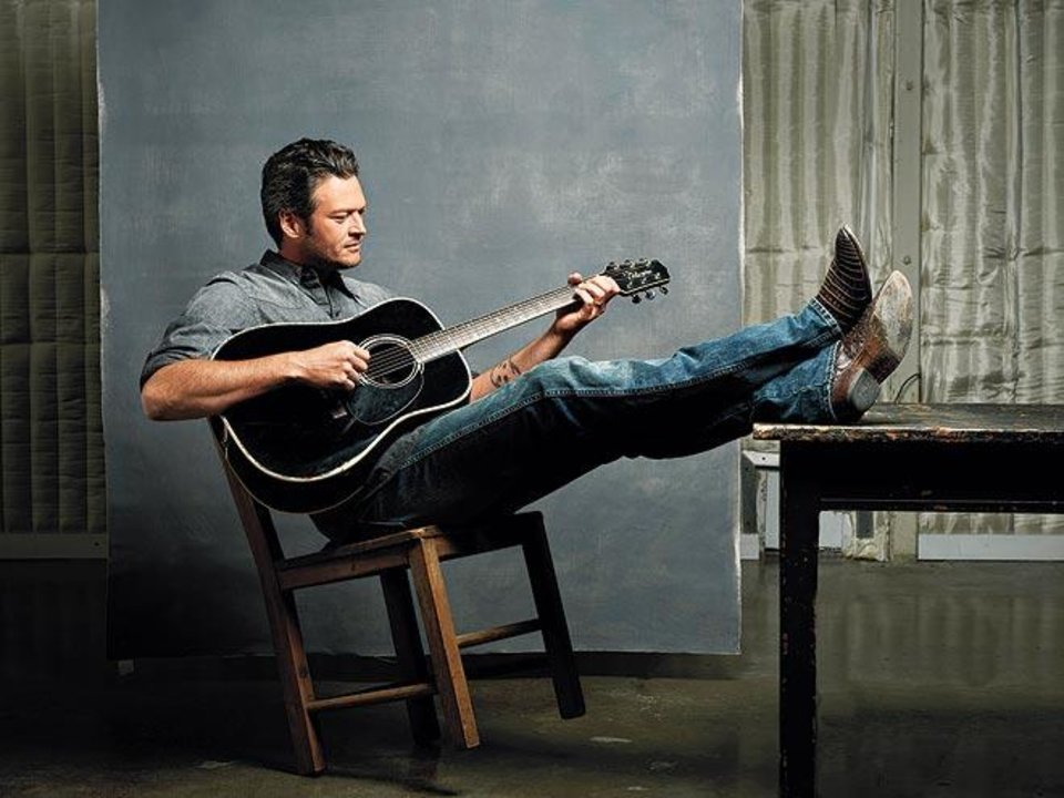 Oklahoma country music superstar Blake Shelton is featured on the 2012 People's Sexiest Man Alive list, along with Denzel Washington, Bradley Cooper and the sexiest of the sexy, Channing Tatum.