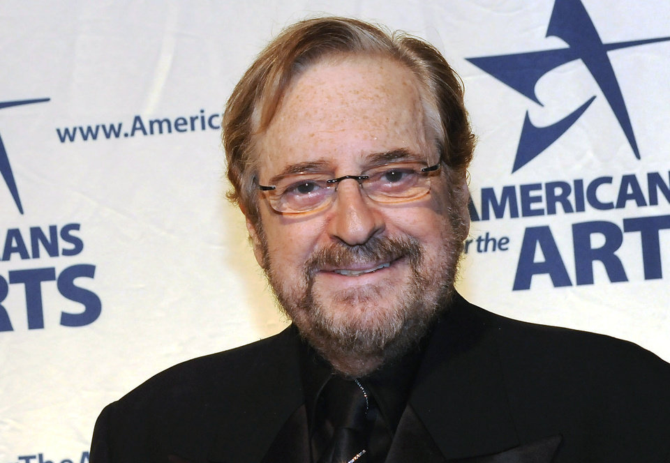 In this Oct. 6, 2008 photo, Arts Advocacy Award honoree Phil Ramone attends the 2008 National Arts Awards presented by Americans For The Arts at Cipriani's 42nd St. in New York.  Ramone, the Grammy Award-winning engineer and producer whose platinum touch included recordings with Ray Charles, Billy Joel and Paul Simon, has died. He was 72.  His son, Matt Ramone, confirmed the death.  Phil Ramone was among the most honored and successful music producers in history, winning 14 Grammys and working with many of the top artists of his era. (AP Photo/Evan Agostini)