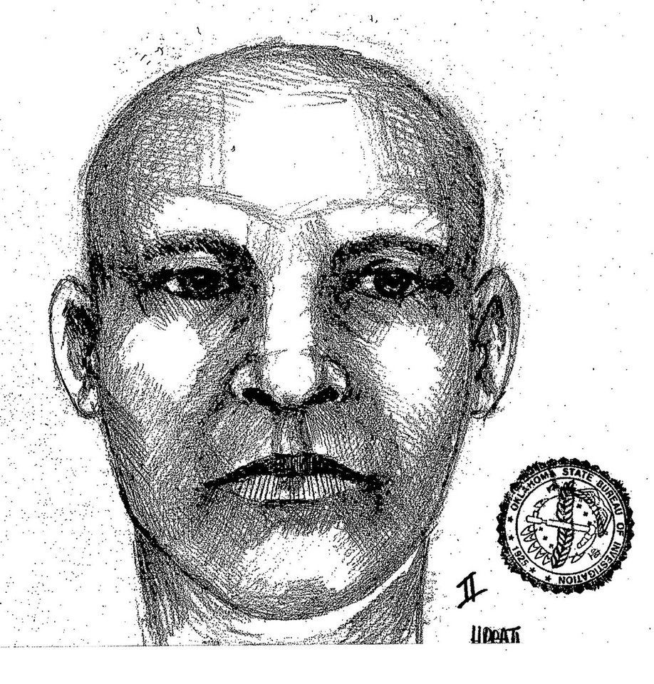 Sketch of man sought in a beating death