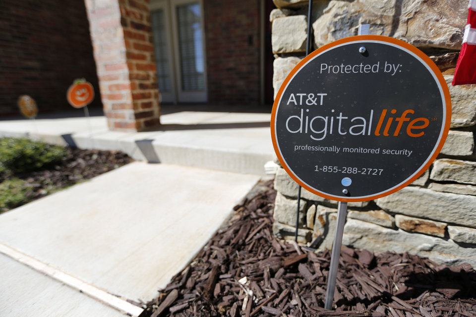 Photo - AT&T Digital Life home security is now available for a monthly subscription in Edmond.  Steve Gooch - Photo By Steve Gooch, The Oklaho