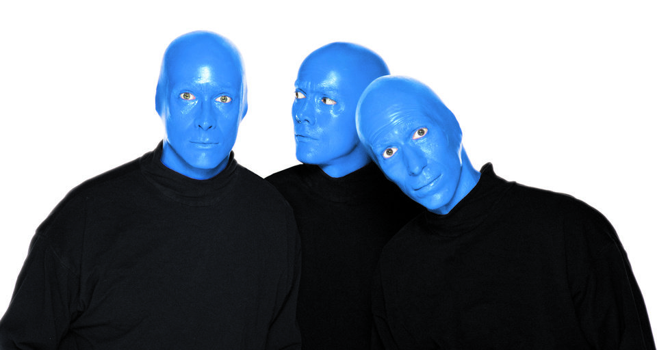 Photo - Blue Man Group   Photo provided