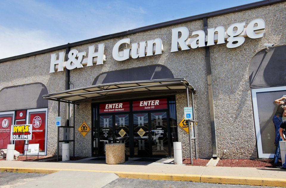 Photo -  H & H Gun Range may be getting some more sales competition as the Oklahoma City Council is being asked to approve a $3.5 million incentive deal for a Cabela's store to be built at Memorial Road and Kilpatrick Turnpike.   PAUL B. SOUTHERLAND -