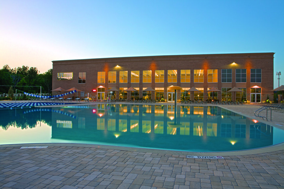 Fitness business building at quail springs mall news ok for Pool show okc