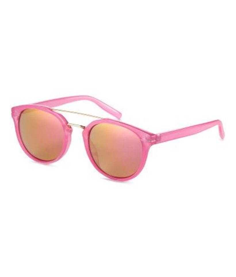 Photo - Pink sunglasses with tinted lenses available at H&M. [Photo Provided]