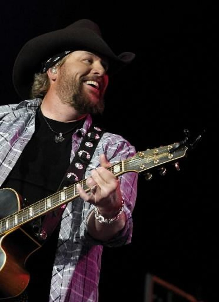 Photo -  Toby Keith (AP file photo)