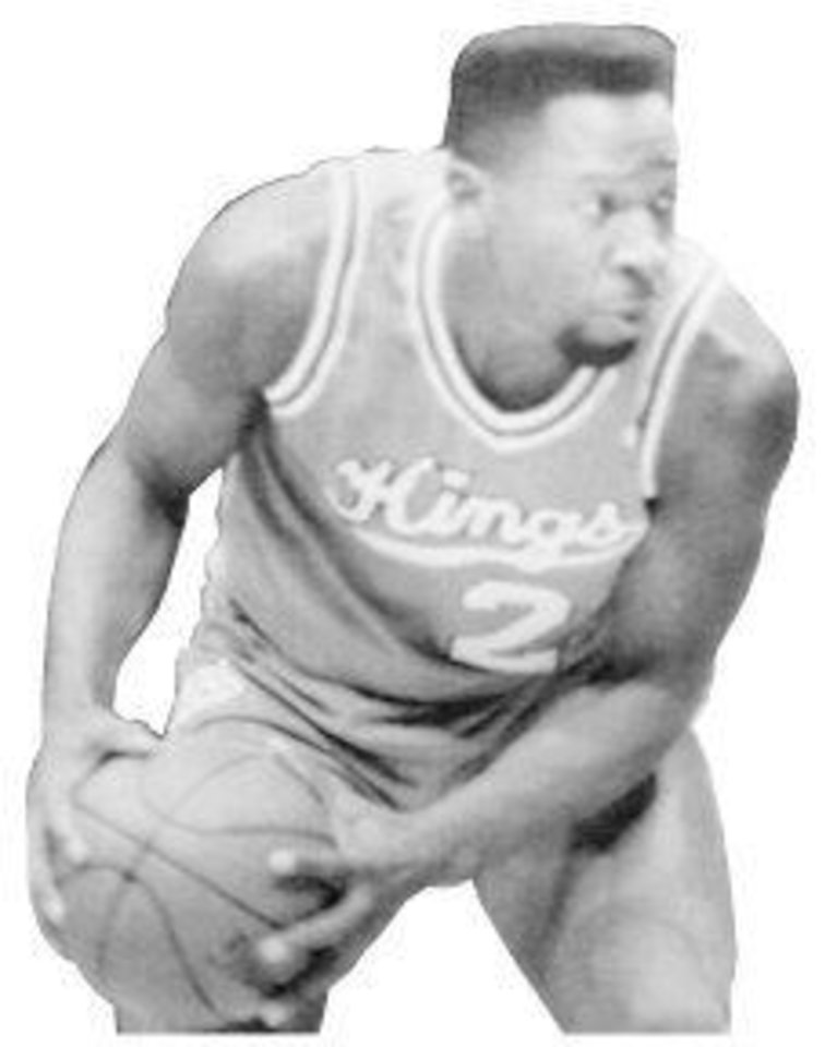 Photo - Wayman Tisdale, Sacramento Kings basketball player