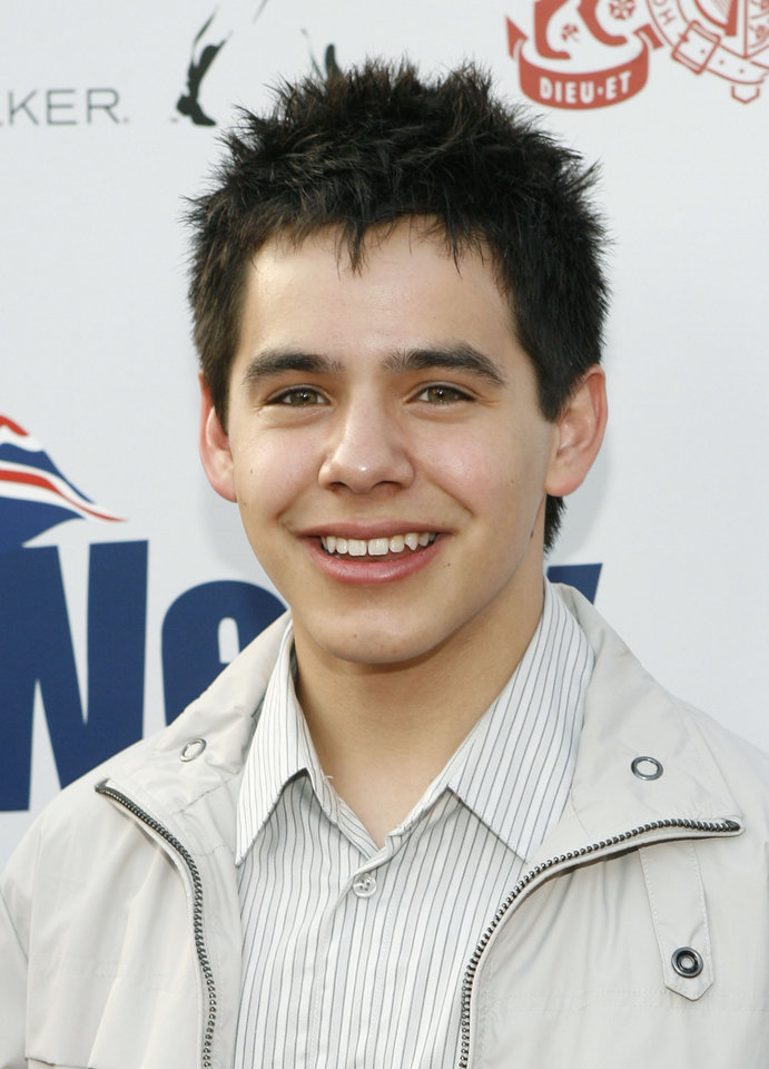 Photo - American Idol contestant David Archuleta arrives at the Britweek launch party at the British Consul Generals' residence in Los Angeles on Thursday, April 24, 2008. (AP Photo/Matt Sayles) ORG XMIT: CAMW123