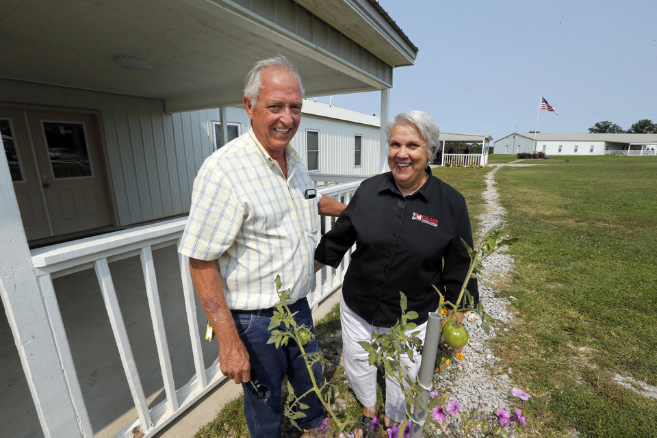 Photo -  Donald and Janet Wilkerson operate the Christian Alcoholics & Addicts in Recovery (CAAIR) rehab center in Jay. [Photo by Steve Sisney, The Oklahoman]