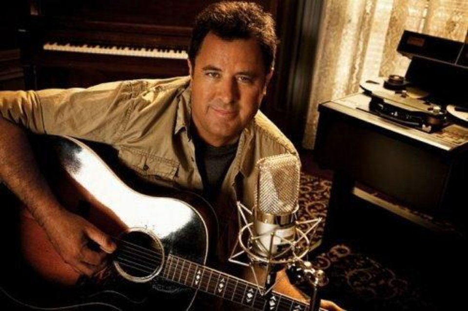 Vince Gill, country music star. Photo provided. PROVIDED
