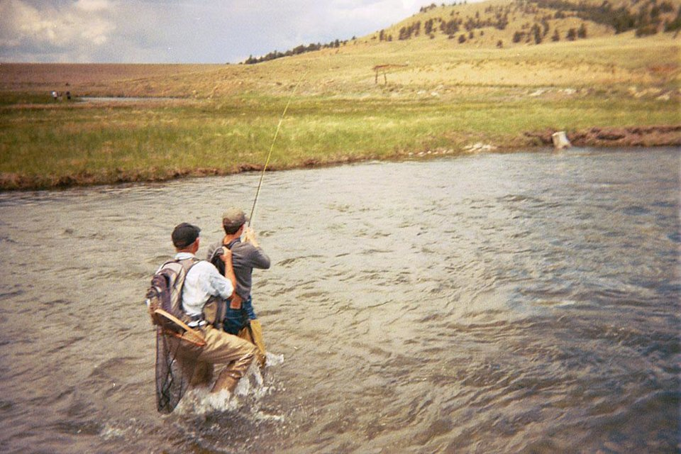 Photo -  Flyfishing is a popular recreation at The Broadmoor Hotel. Photo provided.